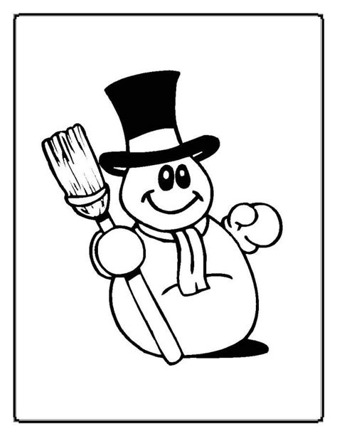 dancing snowman coloring page christmas coloring pages coloring home