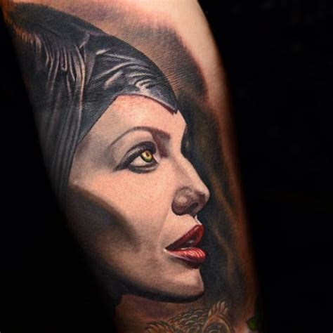 arm maleficent tattoo by nikko hurtado