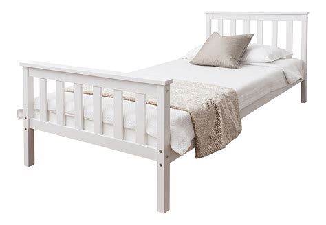 white wooden bed bed signature sleep memoir 12 inch memory foam mattress