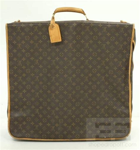 louis vuitton monogram canvas garment bag ebay