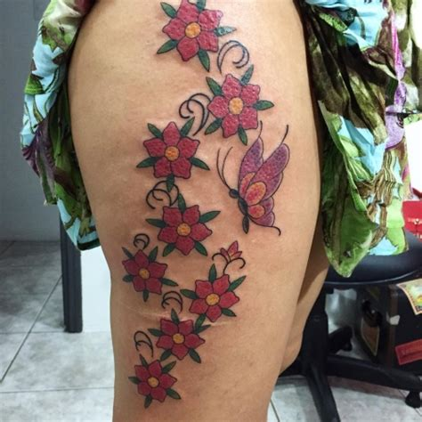 40 Awesome Ideas About Cherry Blossom Tattoo For Womens Cherry Blossom Leg 15 Cherry Blossom Designs