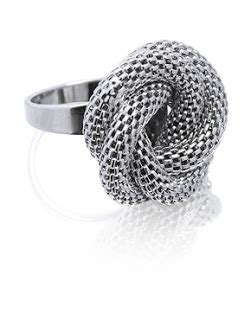 Lara Bohincs Plaited Mesh Bangle by Petticoat February 2008