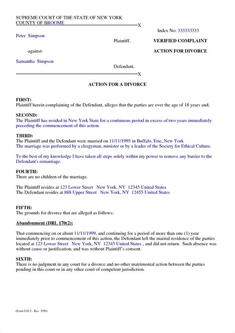 Agreement Letter For Marriage Separation 8 Marriage Separation Agreement Templatereport Template Document Report Template