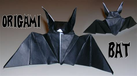 origami bat andrea origami bat mantler s bat youtube