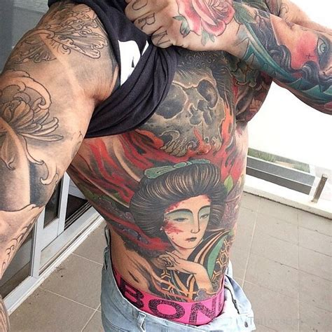 Geisha Girl Tattoo Ribs | geisha tattoos tattoo designs tattoo pictures