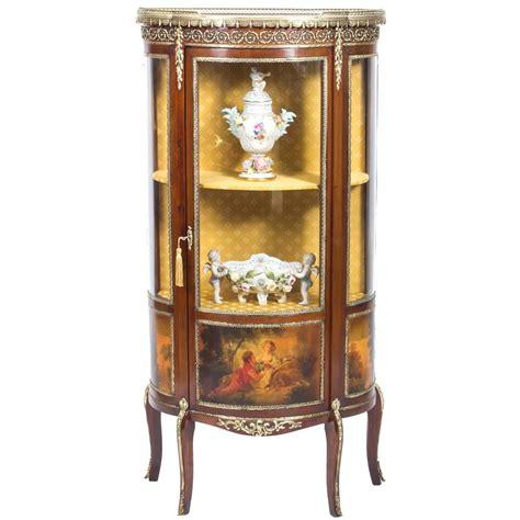 Martin Cabinet by Antique Vernis Martin Cabinet Vitrine Circa 1900