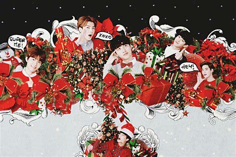 exo christmas wallpaper christmas with exo by kamjong kai on deviantart