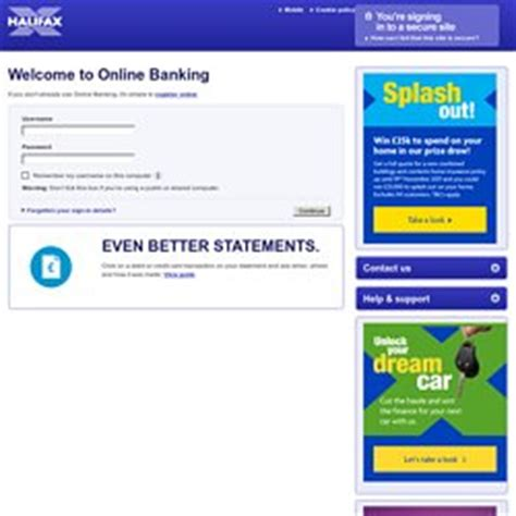 reset halifax online banking personal pearltrees