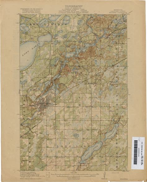 minnesota topographic map minnesota historical topographic maps perry casta 241 eda