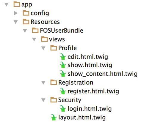 fosuserbundle layout login symfony 3 and fos user bundle customizing users twilio