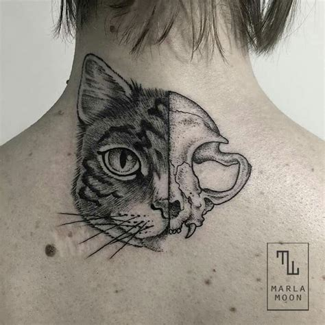 tattoo fixers cat face best 25 cat skull tattoo ideas on pinterest cat skull