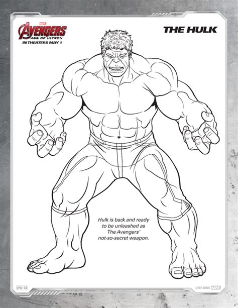 printable heroes bandit marvel printable coloring pages avengers age of ultron