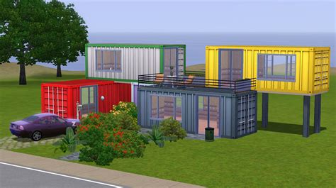 create a house mod the sims container textures