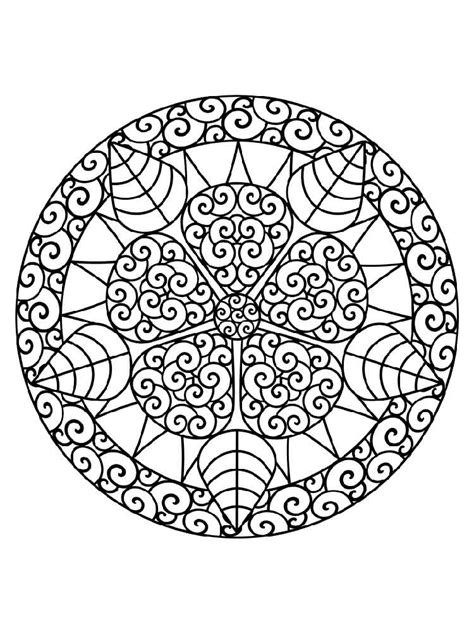 Chakra Mandalas Coloring Pages For Adult Free Printable Chakra Mandala Coloring Pages