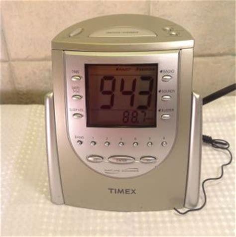timex t234b nature sounds alarm clock radio black on popscreen