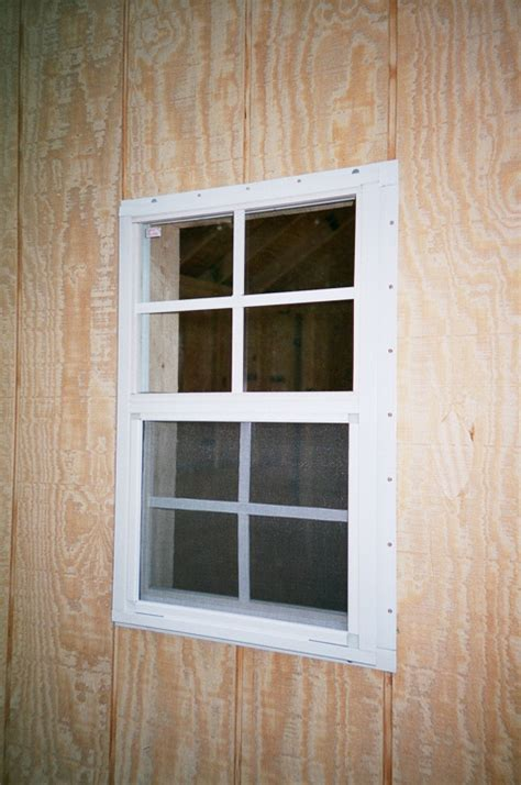 Shed Window Installation by Atlantic Shed Window Installation