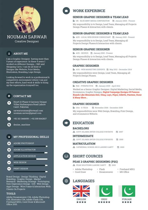 Resume Design by 10 Skills Every Designer Needs On Their Resume Design Shack