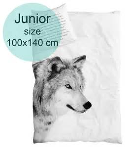 200x200 Duvet By Nord Wolf Junior Duvet Cover 100x140 Cm Tax Free