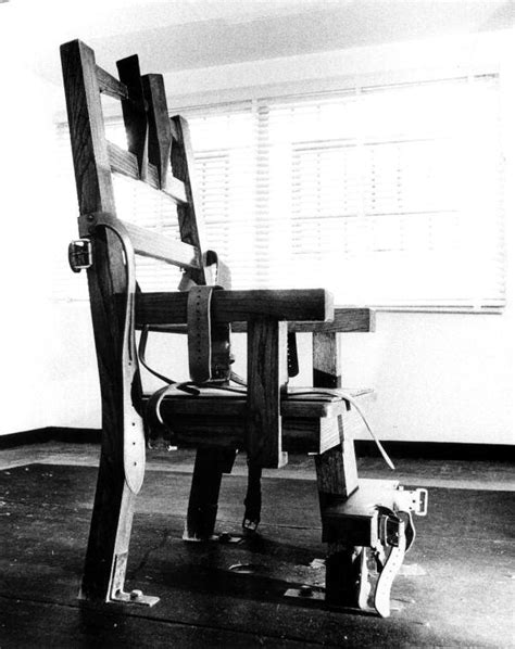 Florida Electric Chair by Florida Memory Electric Chair At The Florida State