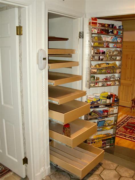 narrow pantry organization pantry