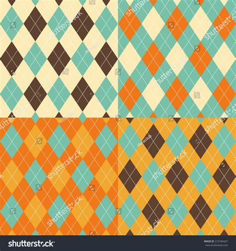 seamless argyle pattern seamless argyle pattern diamond shapes background stock
