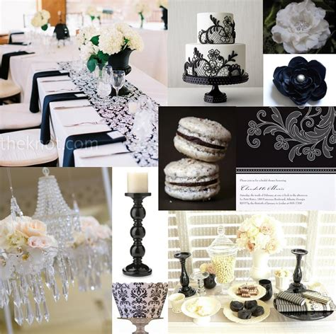 white and black bridal shower ideas bridal showers letters