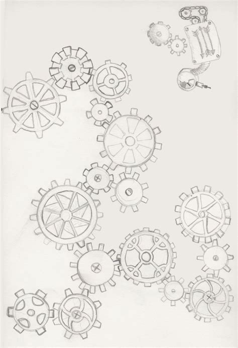 gear tattoo design gear 2 by kestrajean on deviantart