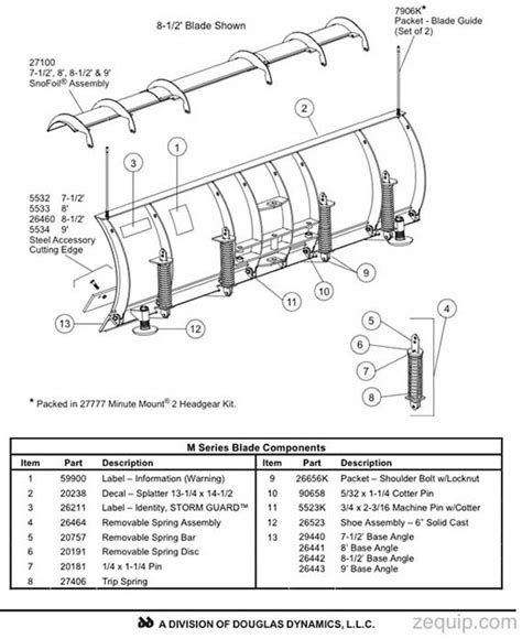 fisher snow plow parts diagram fisher hd snow plow blade parts