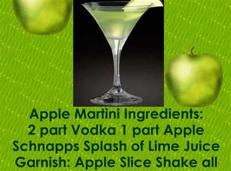 apple martini bar green apple martini