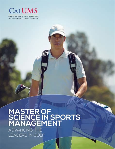 Mba And Ms In Sports Management by Calums Ms Sports Management Program May282015