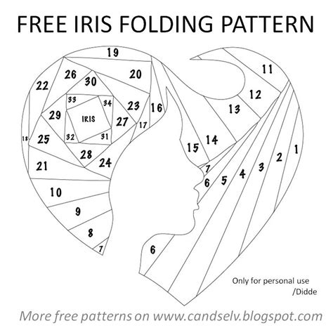 Iris Folding Papers Free - 1000 images about iris folding on
