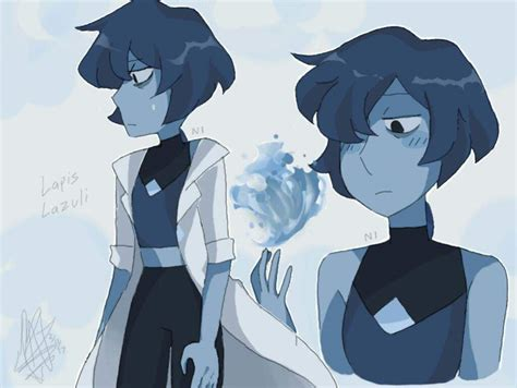 Hotpen Lapis 1033 Gemsona Lapis Lazuli Steven Universe Amino