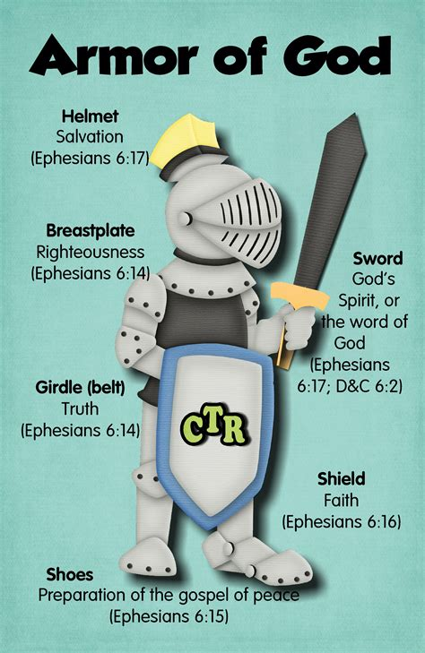 Armoir Of God The Armor Of God Families Are Forever