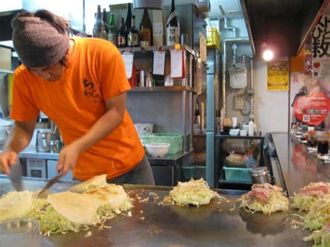 street foods    osaka japan