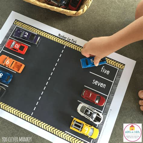 Play Store Car Printable Car Play Mats With Numbers Nurturestore