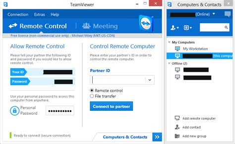 teamviewer console remote help for family and friends part 3 unattended