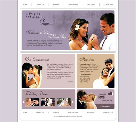wedding photo templates closed looking for web designer free website templates