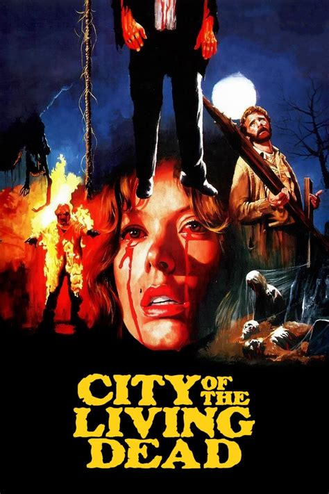 The Living Dead city of the living dead 1980 posters the