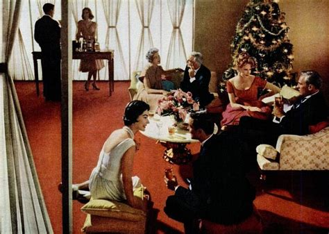 christmas cocktails vintage holiday cocktail party 1960 vintage christmas