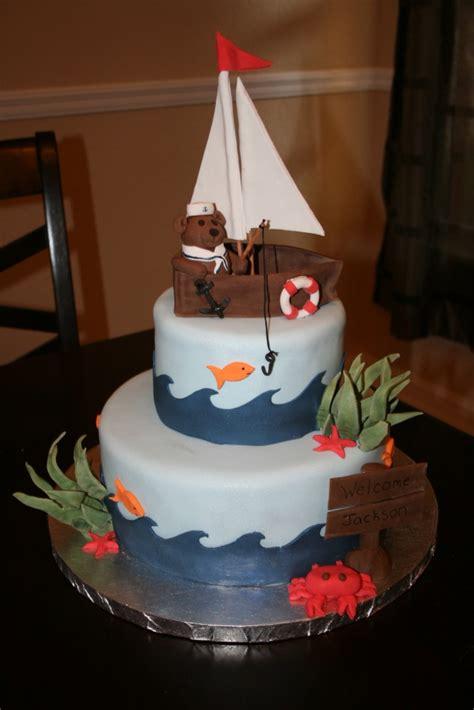 sailboat cakes decoration ideas  birthday cakes