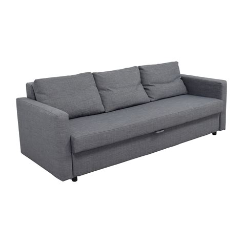 32% OFF   IKEA IKEA FRIHETEN Grey Sleeper sofa / Sofas