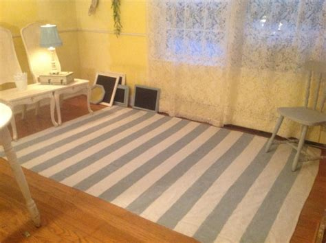 drop cloth rug rug area rug drop cloth rectangle cottage chic painted chalk paint chevron or