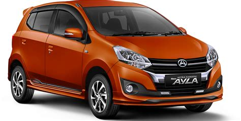 Tv Mobil Daihatsu Ayla 2017 toyota agya and daihatsu ayla facelift launched in indonesia new 1 2l 3nr fe four