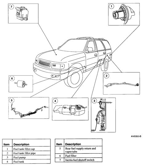 where is the fuel filter located on my 2001 subaru outback sedan 2001 subaru outback support 2000 ford expedition fuel filter diagram 40 wiring diagram images wiring diagrams