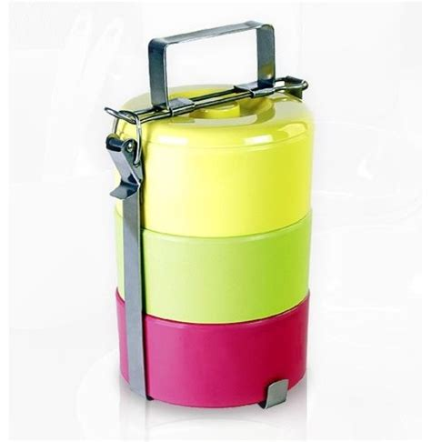 picnic tiffin contemporary picnic baskets by - Picnic Storage Containers