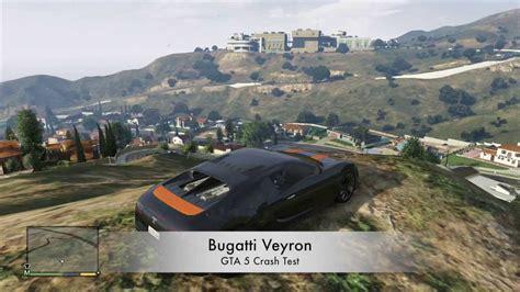 bugatti crash test gta 5 v xbox 360 bugatti veyron crash testing gameplay