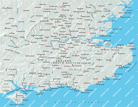 map uk south east south east map illustrator mountain high maps plus