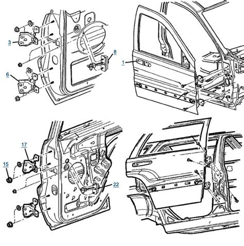 Parts For 2004 Jeep Grand 8 Best Images Of Car Door Parts Diagram 2004 Jeep Grand
