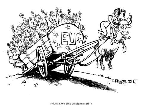 Karikatur 4d caricature d haitzinger sur l 233 largissement de l ue 30