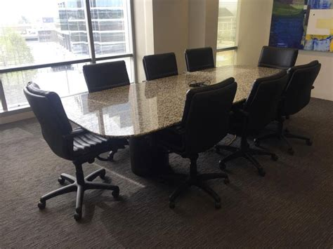 used conference room tables used granite conference table used office furniture